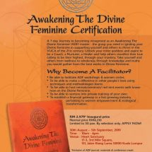 Awakening The Divine Feminine Certification Course by Sujata Nandy