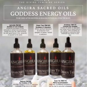 Angira Sacred Energy Oils by Sujata Nandy