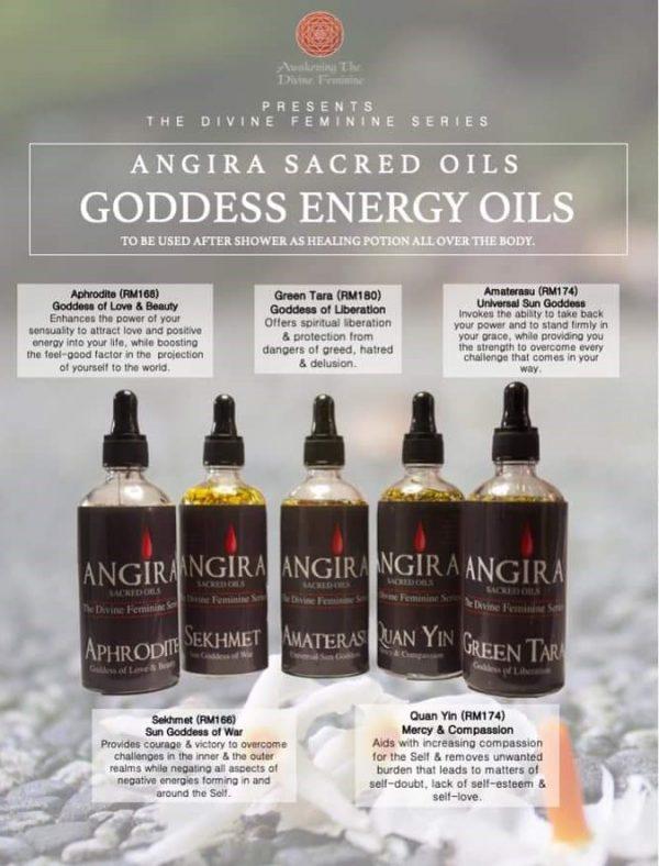 Angira Sacred Energy Oils by Sujata Nandy
