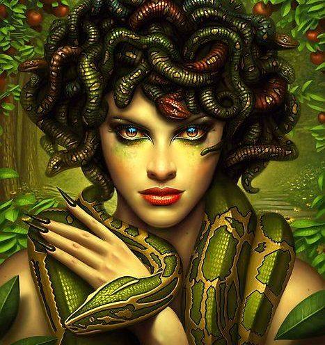 Medusa - The Untameable Power
