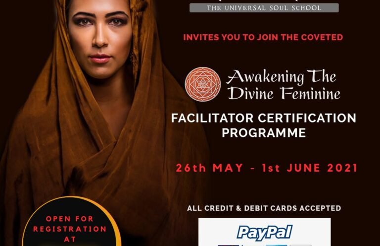 Awakening The Divine Feminine Facilitator Certification Program 2021