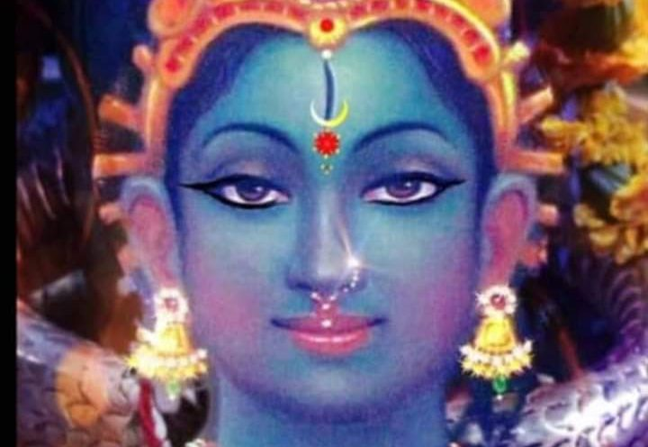 GODDESS MATANGI - GUPT NAVARATRI by Sujata Nandy