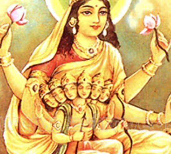 SHARAD NAVARATHRI 2021: PANCHAMAM SKANDAMATETI by Sujata Nandy